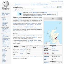 Fife (Écosse)