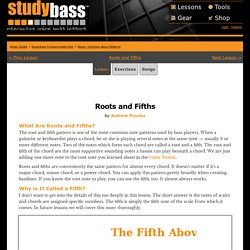 Common Bass Patterns