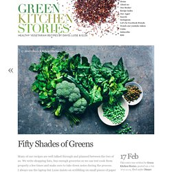Fifty Shades of Greens