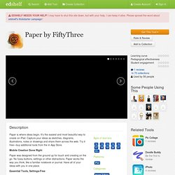 Paper by FiftyThree Reviews