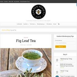 Fig Leaf Tea - Garden Variety Life