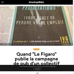 """Quand """"Le Figaro"""" publie la campagne de pub d'un collectif anti-IVG"""