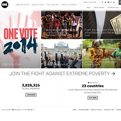 International | Fighting against extreme poverty and preventable disease