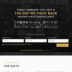 The Day We Fight Back - February 11th 2014