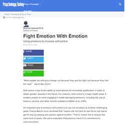 Fight Emotion With Emotion