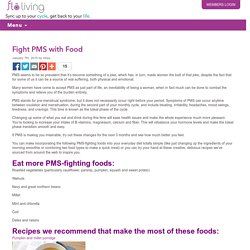 Fight PMS with Food