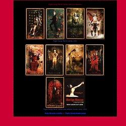 Fight Song Tarot Cards, Marilyn Manson