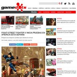 Beta de Street Fighter V inicia mañana en América