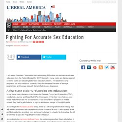 Fighting For Accurate Sex Education