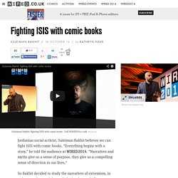 Fighting ISIS with comic books