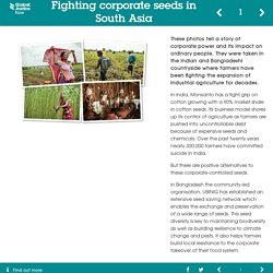 Fighting corporate seeds in South Asia