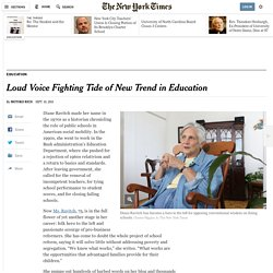 Loud Voice Fighting Tide of New Trend in Education