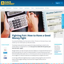 Fighting Fair: How to Have a Good Money Fight