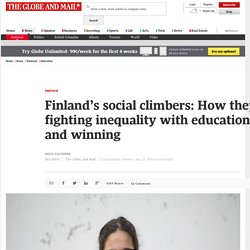 Finland's fighting inequality with education, and winning. What's their secret?