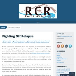 Fighting Off Relapse
