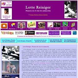 Figuras de cine: Lotte Reiniger