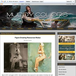 Muddy Colors: Figure Drawing Resources Redux