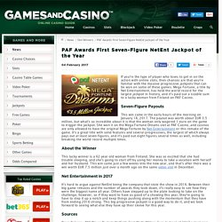 Seven-Figure Mega Fortune Jackpot Awarded at PAF Casino