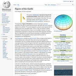 Figure of the Earth