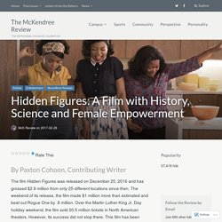 Hidden Figures: A Film with History, Science and Female Empowerment – The McKendree Review
