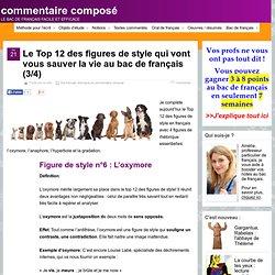 Le Top 12 des figures de style pour le bac de français 3/4