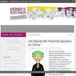 Les figures de migrants paysans en Chine