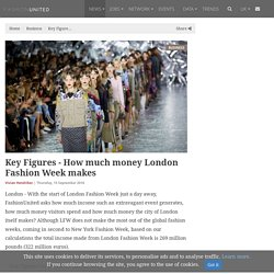 Key Figures - How much money London Fashion Week makes