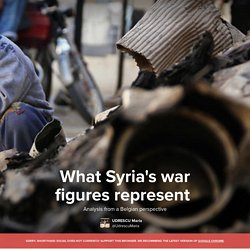 "What Syria""s war figures represent — Shorthand Social"