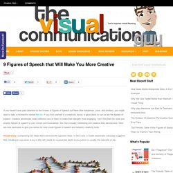 9 Figures of Speech that Will Make You More Creative