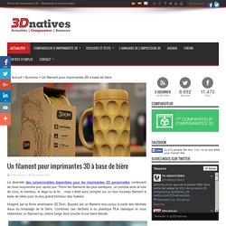 Un filament pour imprimantes 3D à base de bière