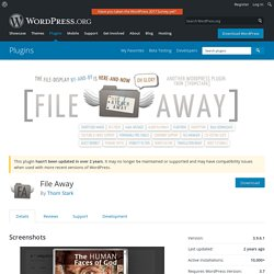 File Away — WordPress Plugins