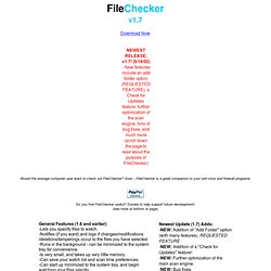 FileChecker