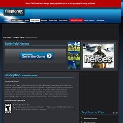 Free Games - Battlefield Heroes