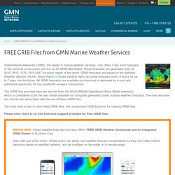 FREE GRIB Files from GMN Marine Weather Services