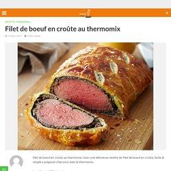 Filet de boeuf en croûte au thermomix - Recette Thermomix
