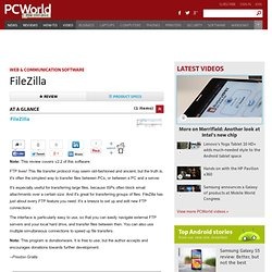 FileZilla description, Internet Tools Downloads List By 30 Day Change | PCWorld