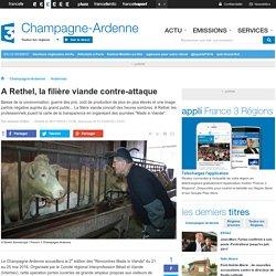 A Rethel, la filière viande contre-attaque - France 3 Champagne-Ardenne