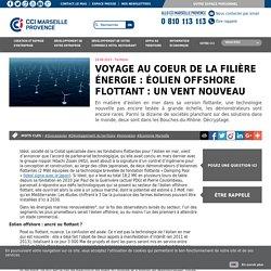 Voyage au coeur de la filière énergie : Éolien offshore flottant : un vent nouveau