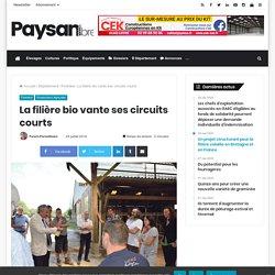 PAYSAN BRETON 24/07/14 Finistère (29) La filière bio vante ses circuits courts