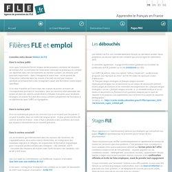 Filières FLE et emploi - FLE