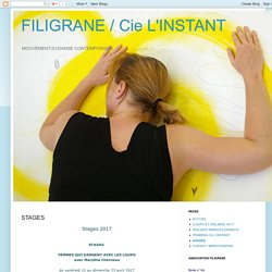 FILIGRANE / Cie L'INSTANT: STAGES