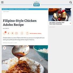 Filipino-Style Chicken Adobo Recipe