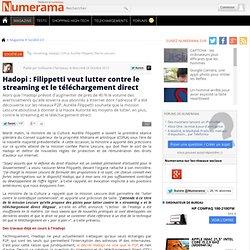 Hadopi : Filippetti veut lutter contre le streaming et le téléchargement direct
