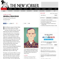 Dexter Filkins: How Good a General was David Petraeus?