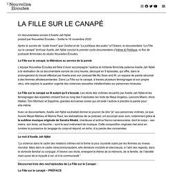 LA FILLE SUR LE CANAPÉ – Nouvelles Écoutes