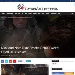 Nick Diaz and Nate Diaz Took it to a whole New Level Thursday Night