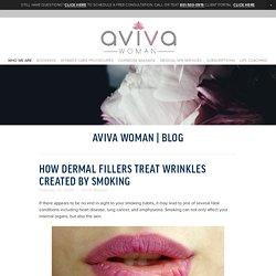 How Dermal Fillers Treat Wrinkles Created By Smoking