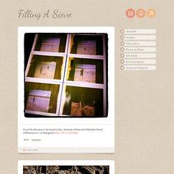 Filling A Sieve