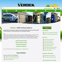 CNG Fuel Stations Installing Services - Verdek