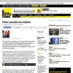 Fillon accable les médias - France - Toute l'actualité en France